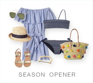 summer vacation wardrobe