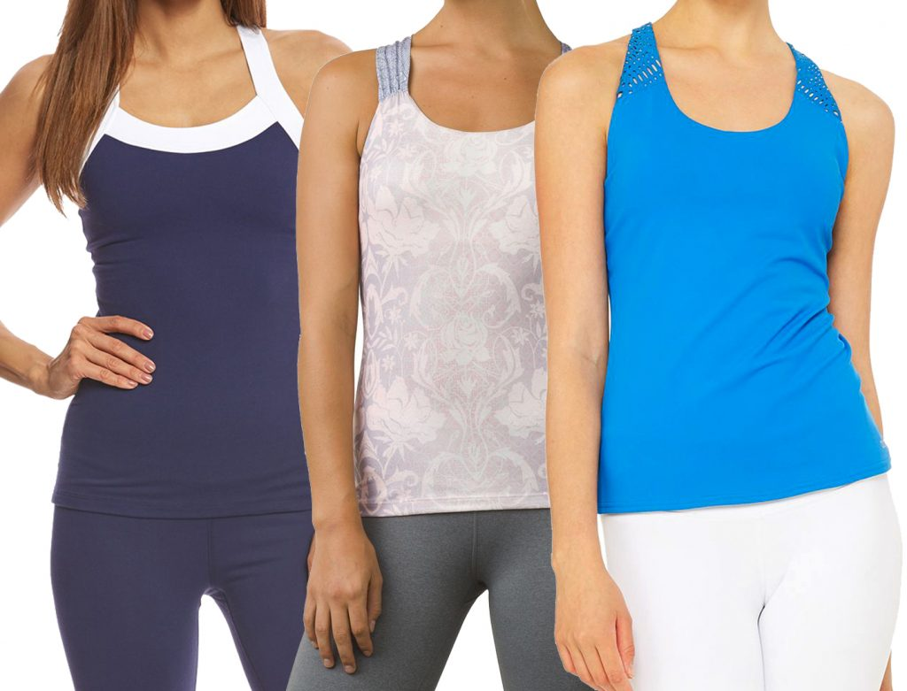 Best Tank Tops With Built-In Bras