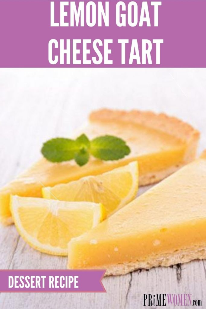 LEMON GOAT CHEESE TART Recipe
