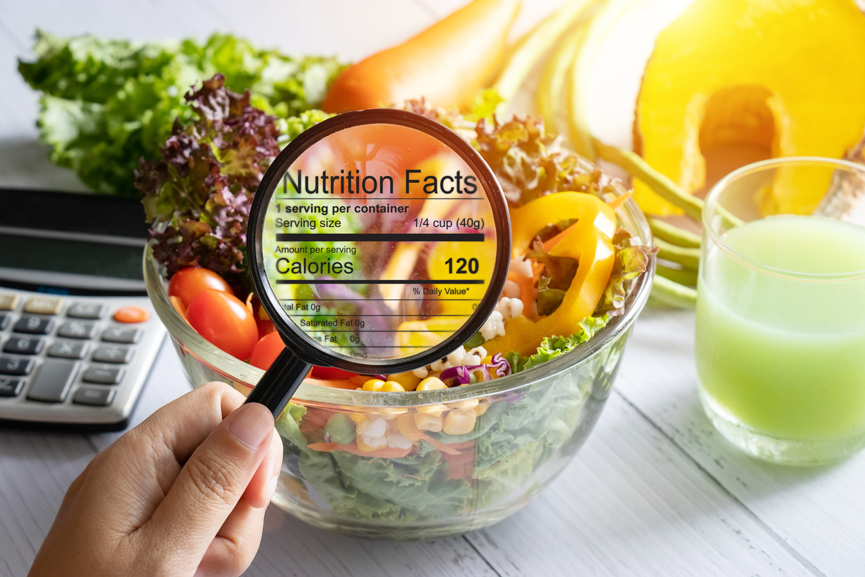 Nutrition label to help you make good decisions when dining out