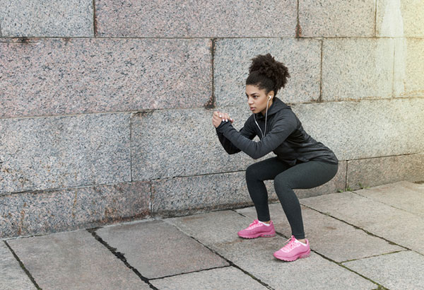 squats without knee pain
