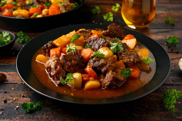 Beef stew is a favorite fall recipe
