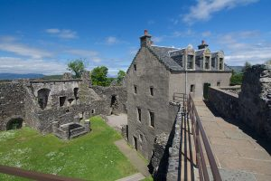 Dunstaffnage haunted castles