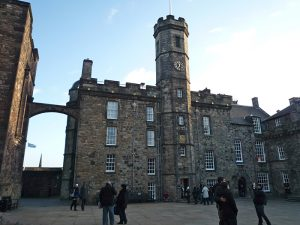 Edinburgh Castle - haunted castles