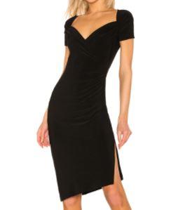 REVOLVE Sweetheart Side Drape Dress