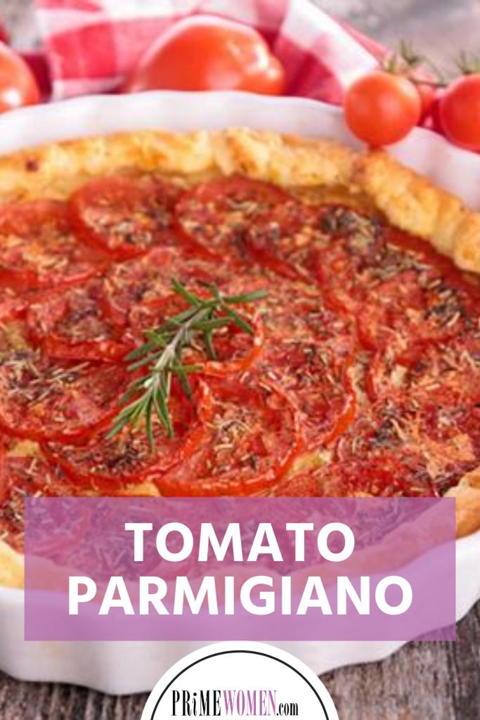 Tomato Parmigiano Tart Recipe