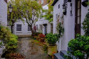 Golden Yard's historic houses in Greater London