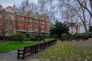 Mount Street Gardens in Greater London