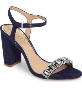 Hendricks Embellished Block Heel Sandal