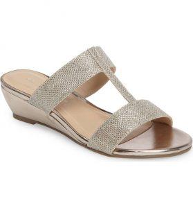 Melina Wedge Slide Sandal