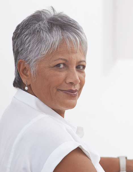 Short Hair for Women Over 50-