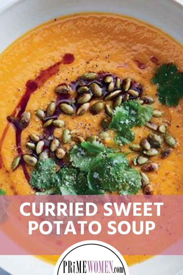 Curried sweet potato soup recipe