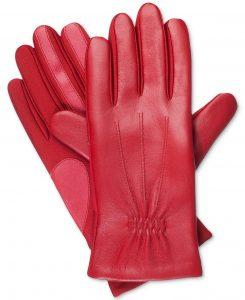 Isotoner Signature Women's SleekHeat™ Stretch Leather Gloves