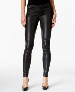 Michael Kors Faux-Leather Leggings