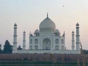 Sight, Taj Mahal - trip to India