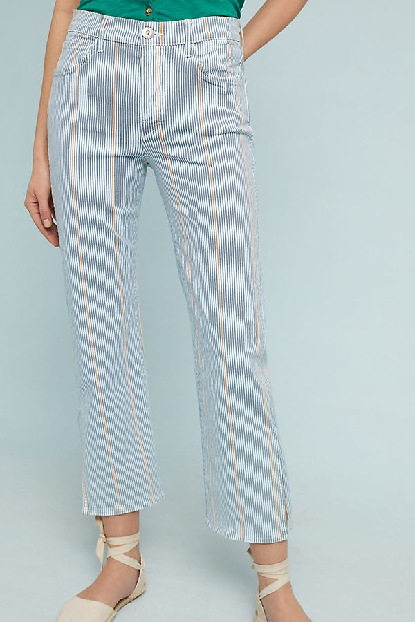 3x1 NYC Shelter Austin High-Rise Cropped Pants