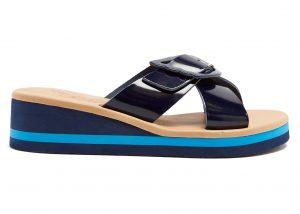 Ancient Greek Sandals Thais Patent Leather Sandals