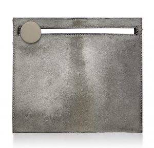 Bienen-Davis Max Silver Haircalf Clutch
