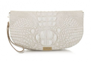 Brahmin Sandrine Melbourne Leather Clutch