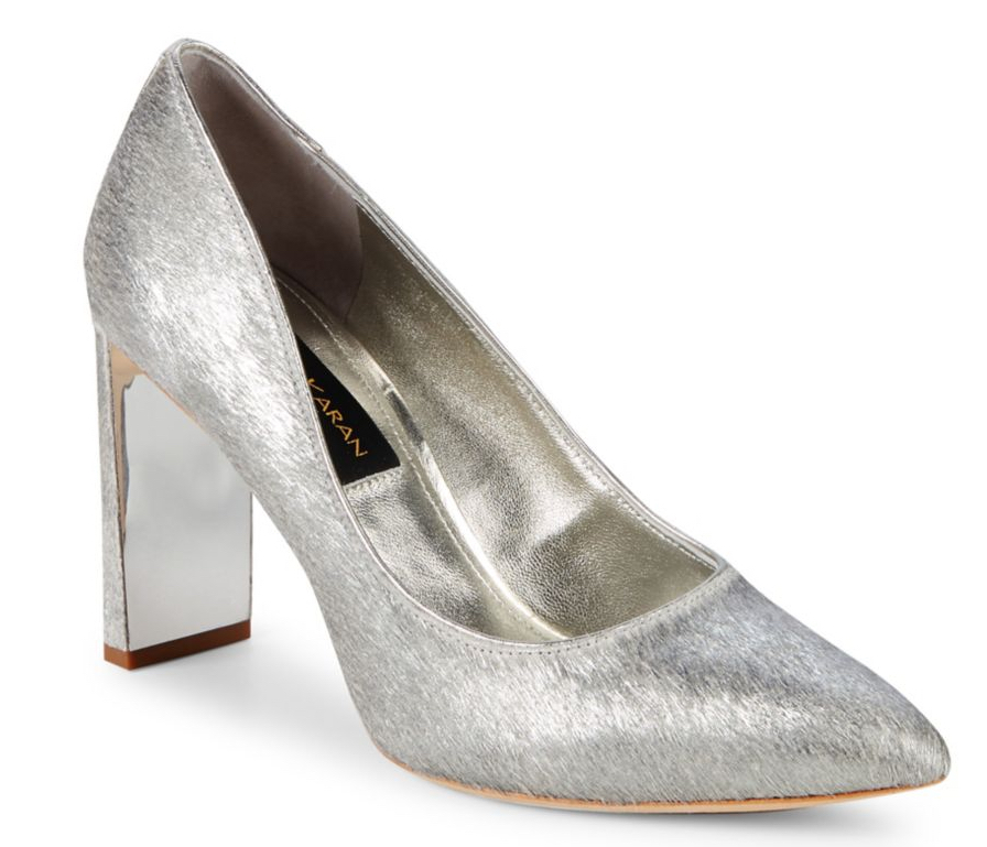 Donna Karan Criss Metallic Pump
