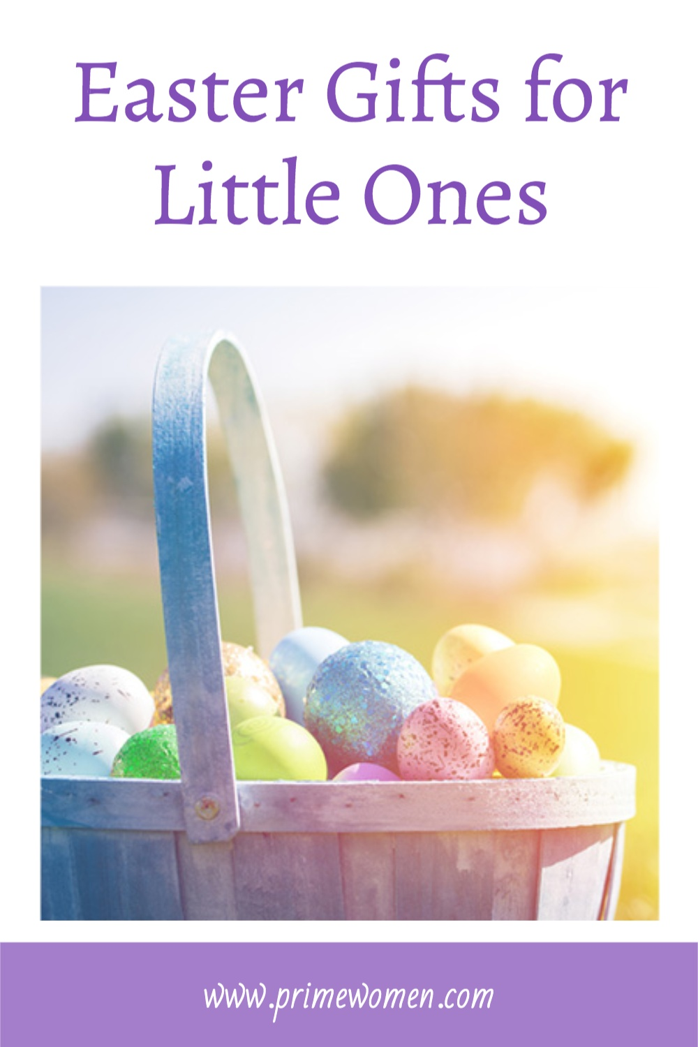 Easter gifts for young children