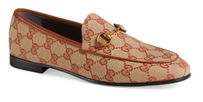 Gucci Logo Loafers