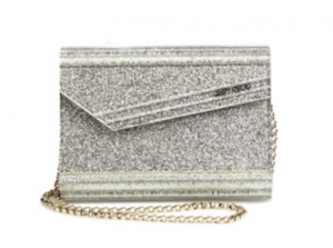 Jimmy Choo Candy Glitter Convertible Clutch
