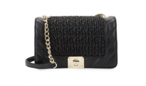 Karl Lagerfeld Lara Quilted Leather Shoulder Bag