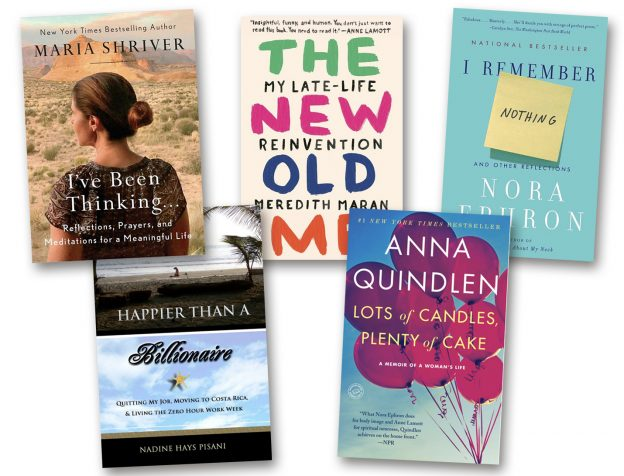 Books by Women Who Reinvented Themselves Collage
