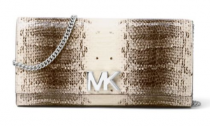 Michael Kors Mott Leather Convertible Clutch