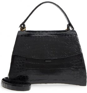 Nancy Gonzalez Genuine Crocodile Top Handle Bag