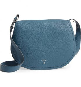 Serapian Milano Small Valeria Leather Crossbody Bag