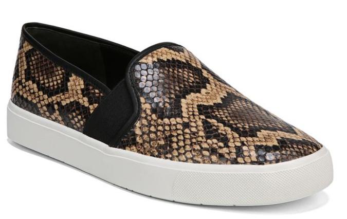 Vince Snake-print Sneakers