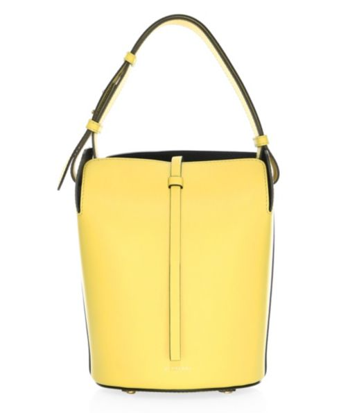 Burberry Small Supple Leather Bucket Bag
