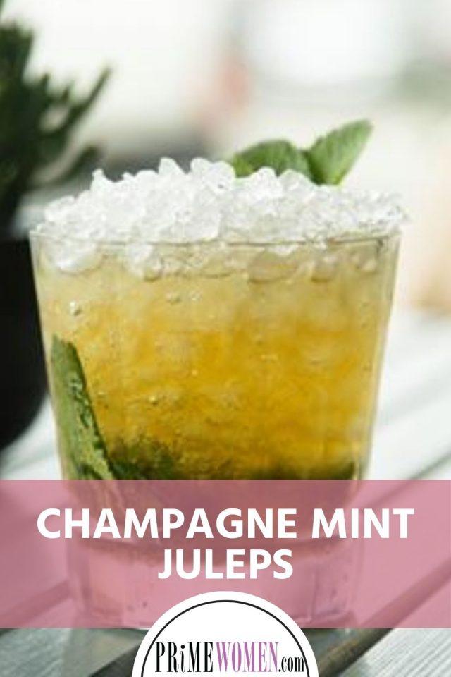 Champagne mint julep recipe