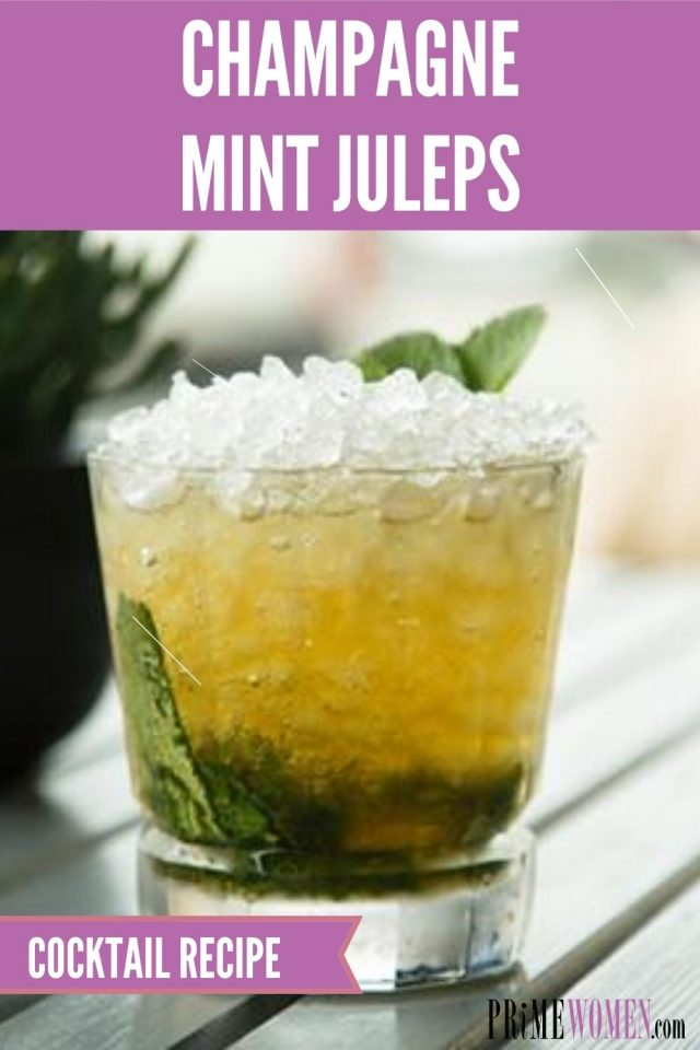 How to make champagne mint juleps