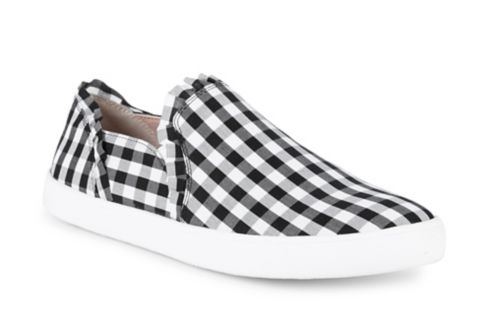 Kate Spade New York Lily Gingham Sneakers