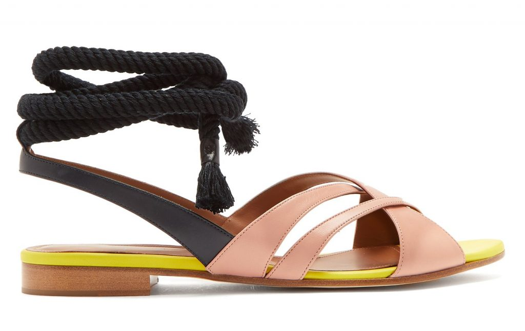 Malone Souliers Marlene Leather Sandals