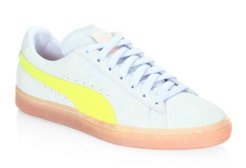 PUMA Low-Top Suede Sneakers