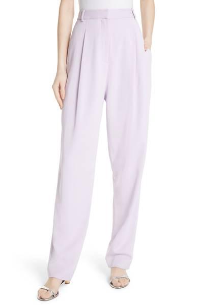 Tibi Sculpted Pleat Front Suit Pants