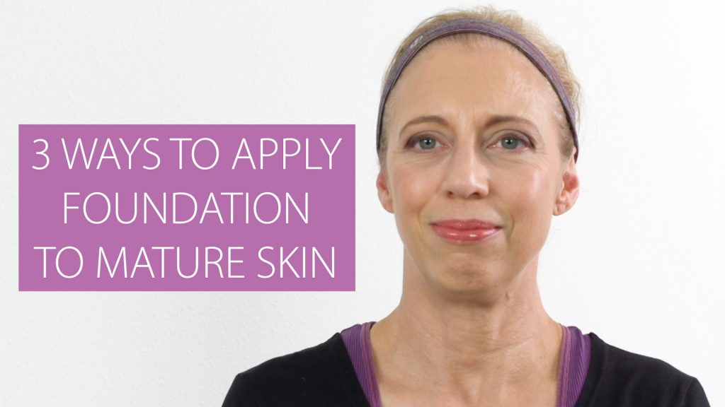 3 ways to apply foundation to mature skin video