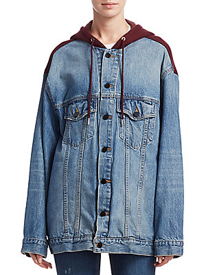 Alexander Wang Mix Denim Jacket