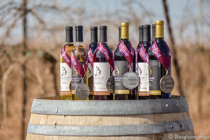 Bingham Wines Texas