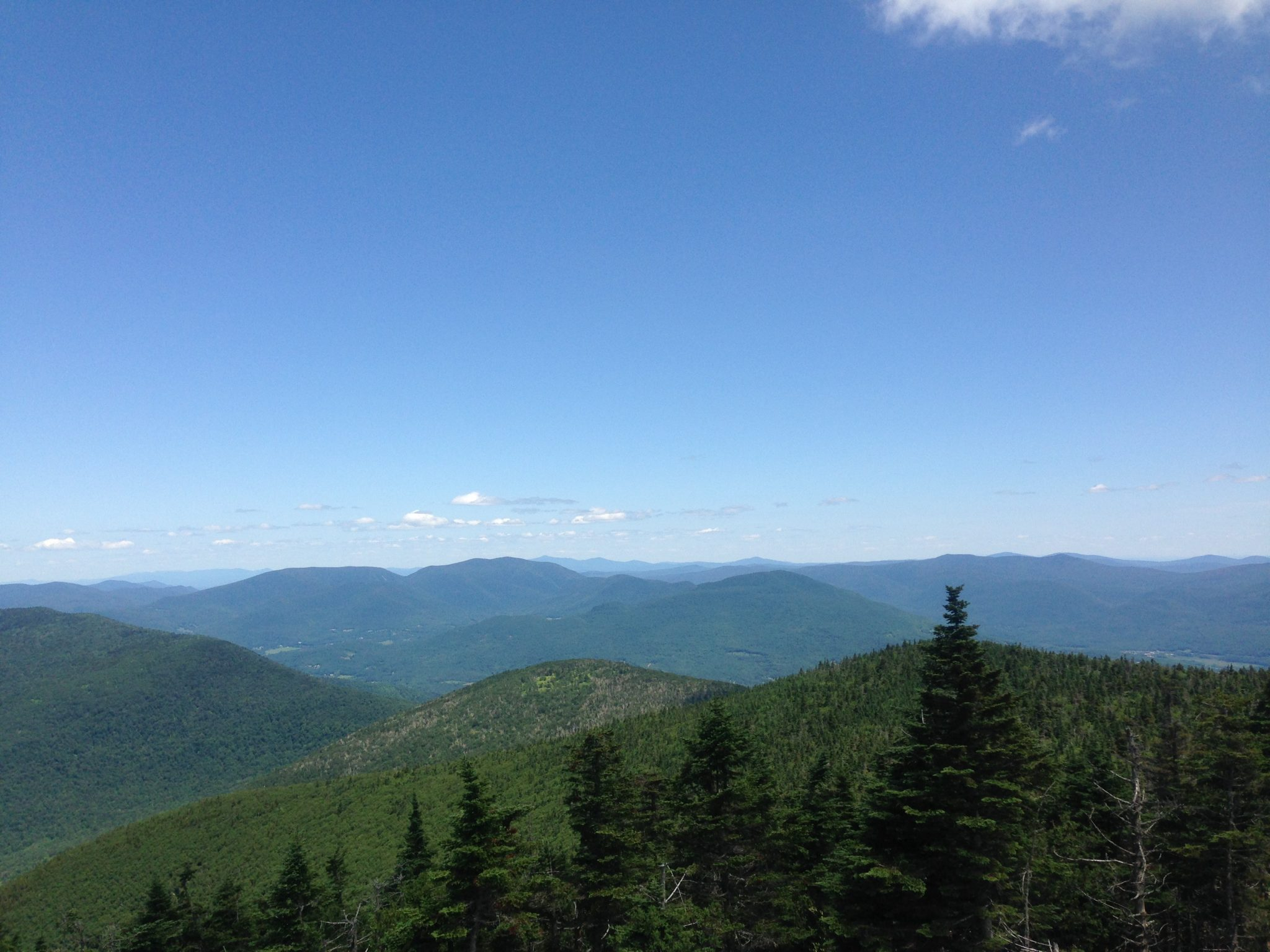 From Mt Equinox