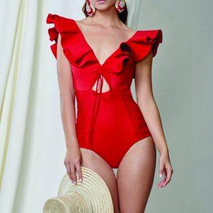 Johanna Ortiz M'O Exclusive Bastille Ruffle Swimsuit
