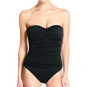 LaBlanca Twist Front Bandeau Swimsuit