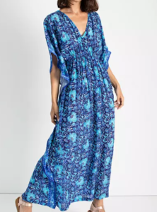 Madewell Rujuta Sheth Marie Cinch Kaftan Dress