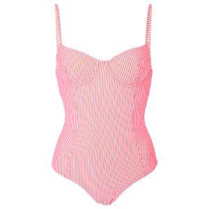 Onia Isabella Seersucker Swimsuit