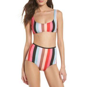 Solid and Striped Brigitte Bottom Ella Top