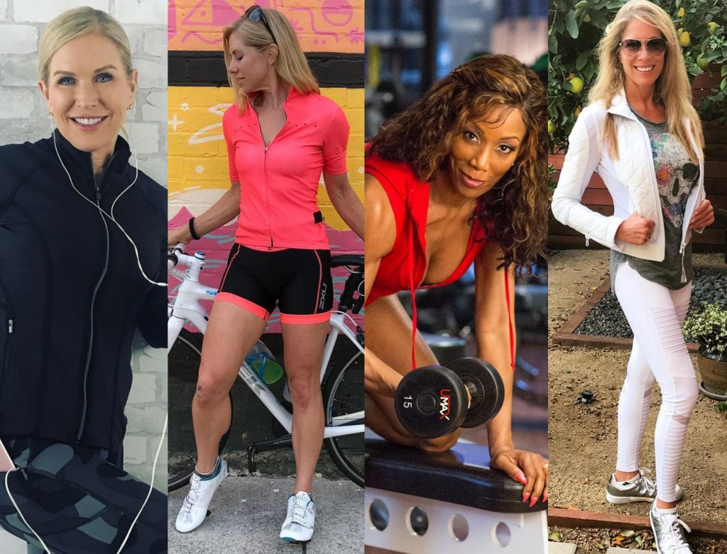 fitness trainers over 45 collage
